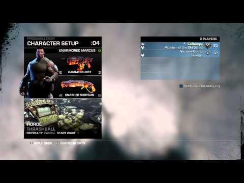 Gears of War 3: How to get the Infinite Ammo mutator