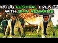 PUBG FESTIVAL EVENTS | REWARDS UP TO 10 SKINS (PUBG Event)