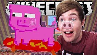 Minecraft | A SKATEBOARDING PIG!! | Pixel Painters Minigame