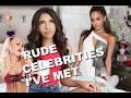 EXPOSING RUDE CELEBRITIES I VE MET!