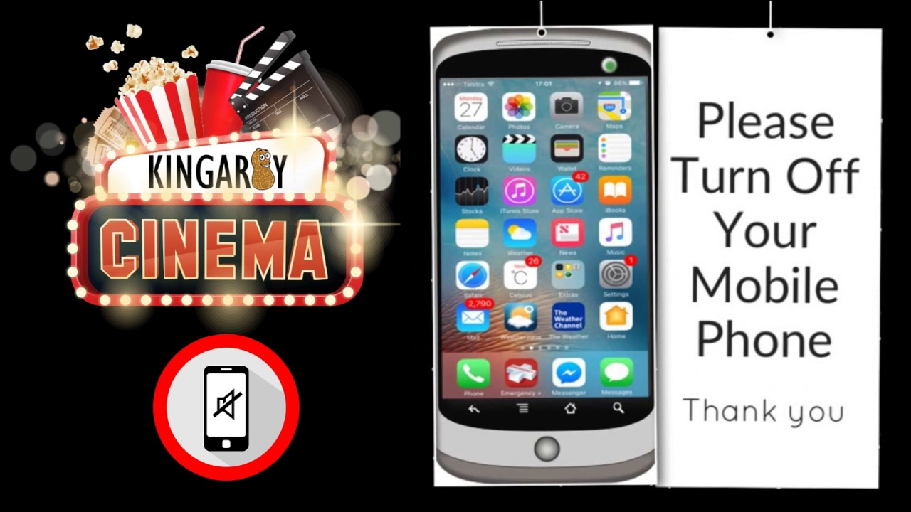 Fantastic Cinema - Turn off Mobile - YouTube BW43