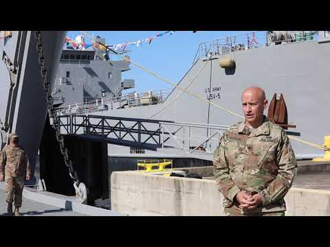 Logistic Support Vessel 5 and 6 homecoming Interview 1 & 2