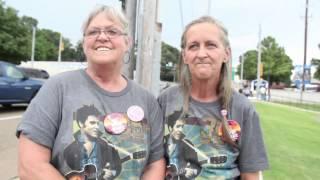 Elvis fans on hearing of his passing Elvis Week 2013 (video)
