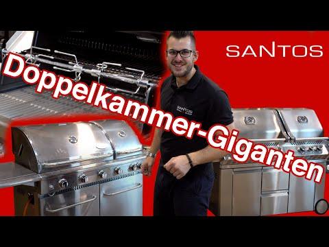 Grillvergleich Der Doppelkammer-Giganten: Napoleon Vs. Broil King Vs. Santos - Die Größten Gasgrills