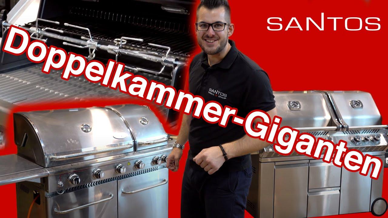 Santos Gasgrill Duo Test : Billig stor gasgrill gasgrill arizona bbq boss edelstahl