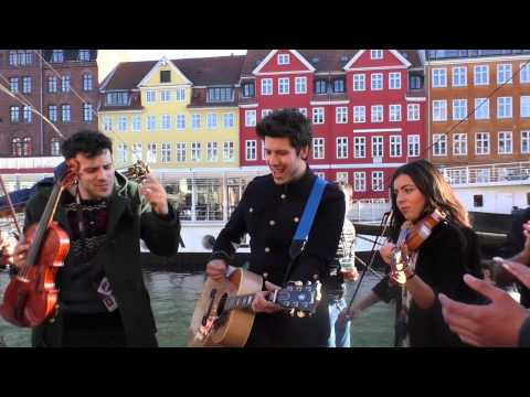 """Sebalter and Can-Linn feat. Kasey perform """"Hunter of Stars"""" at Eurovision Street Party"""