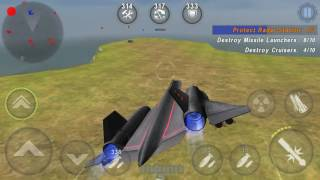 Gunship Battle Game - Black Bird (New Gunship) - New Custom Mission - Defence Rader Base