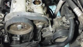 Часть1 Ремон двигателя Golf 4 AHW 1,4 замена поршневых колец разборка двигателя
