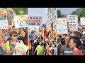 AfD-Demo in Berlin trifft auf 25.000 Gegendemonstranten