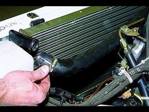 Как поменять радиатор охлаждения на ваз 2114
