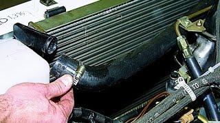 видео Замена радиатора на ВАЗ 2109