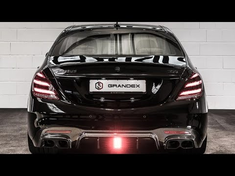 Brabus 800 S63 L 4-Matic+ Obsidian Black For Sale