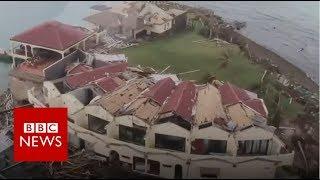 Hurricane Irma: British Virgin Islands devastation - BBC News