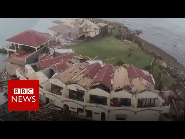 Hurricane Irma: British Virgin Islands devastation - BBC News