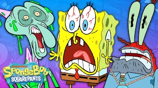 Top 47 Freakiest Moments Ever  | SpongeBob