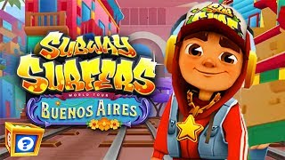 Subway Surfers BUENOS AIRES Android Gameplay - Star Outfit World Tour 2018