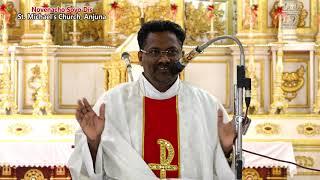 Novenacho Sovo Dis - 30th Sept celebrated by Fr. Patrick Luis sfx St.  Michael's Church, Anjuna