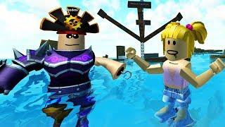 【小熙&屌德斯】Roblox 造船模拟器  造最厉害的船干翻一切!当最牛X的海盗兄妹!