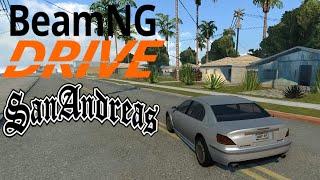 GTA SA Groove Street converted to BeamNG Drive