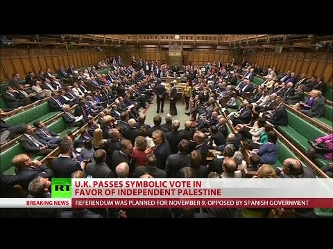 UK parliament recognizes State of Palestine