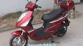 Taotao CY150D 150cc SuperScooter - YouTube