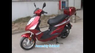 Official TaoTao 150cc Scooter Assembly Video (CY150 + ALL 150cc TaoTao Scooters)