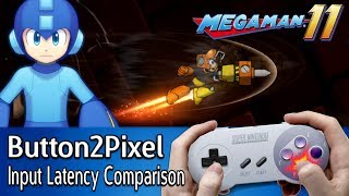 Button2Pixel: Mega Man 11 Demo Input Lag Analysis (all platforms)