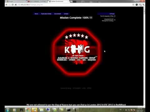 Srbija.gov.rs Hacked by KHG (Kosova Hackers Group)