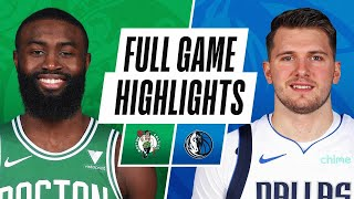 Game Recap: Mavericks 110, Celtics 107