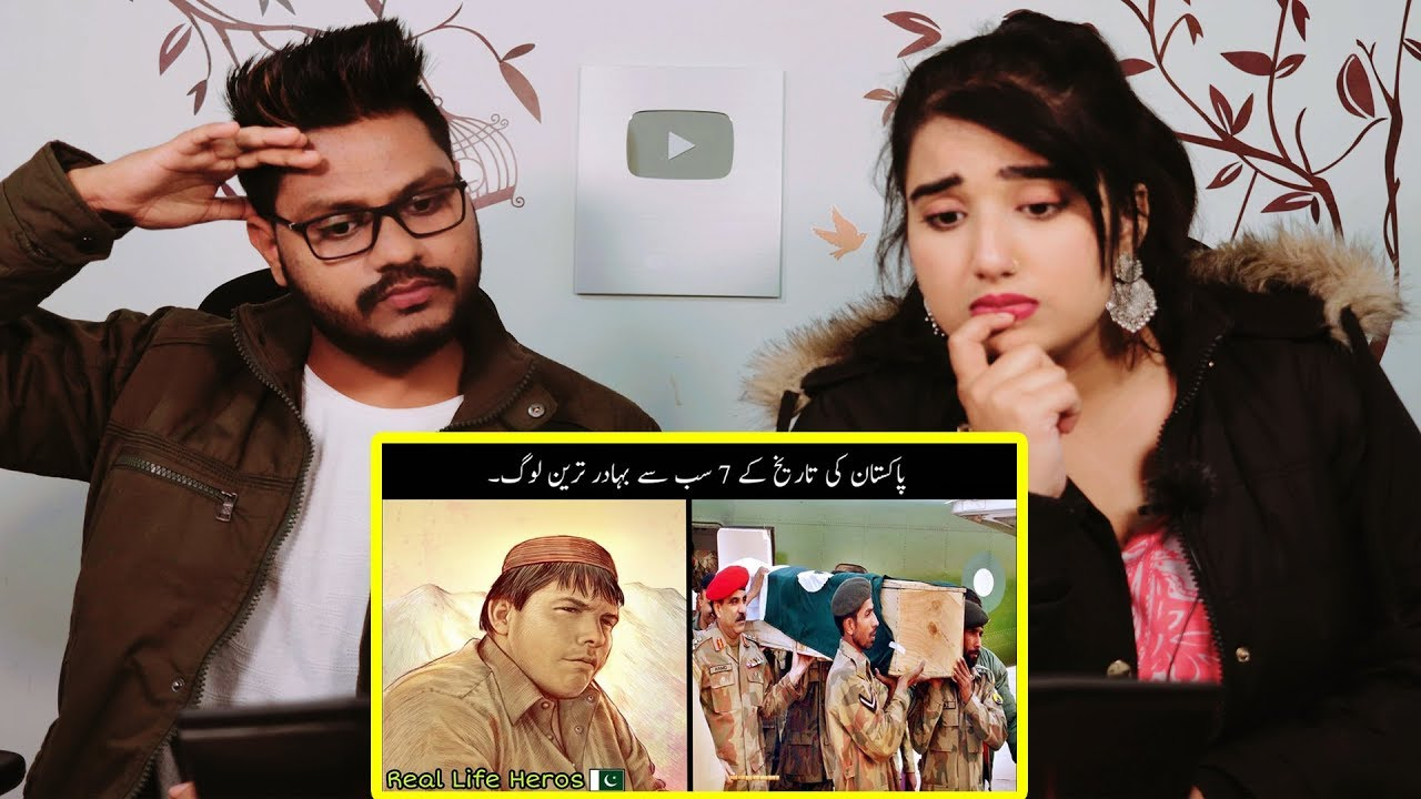 Indian Reaction On 7 Real Life Heros Of Pakistan ¦ Bravest People Of Pakistan ¦ Haider Tv