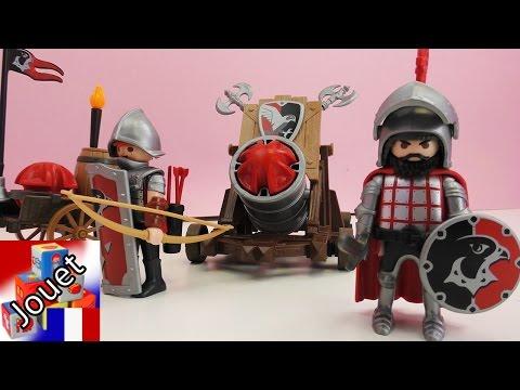 Playmobil Knight Canon – Démo du chevalier avec son gigantesque caronade – Feu à volonté !
