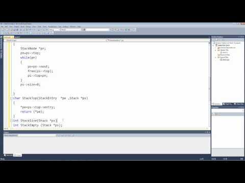 Stack Linked List Implementation Forth Tutorial