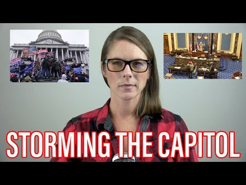 Let's talk about what happened at the Capitol and public trust in journalism