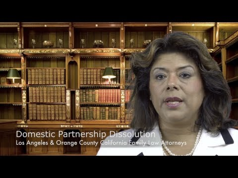 Orange County Domestic Partnership Lawyer - Family Law Attorney