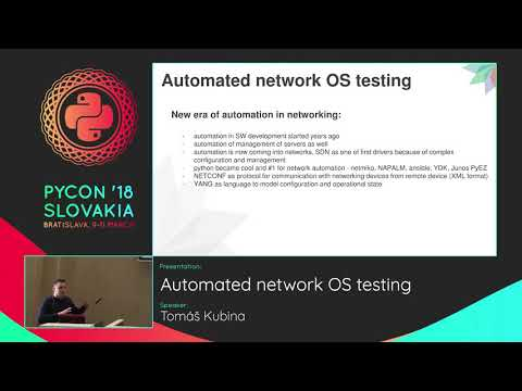 PyVideo org · Automated network OS testing