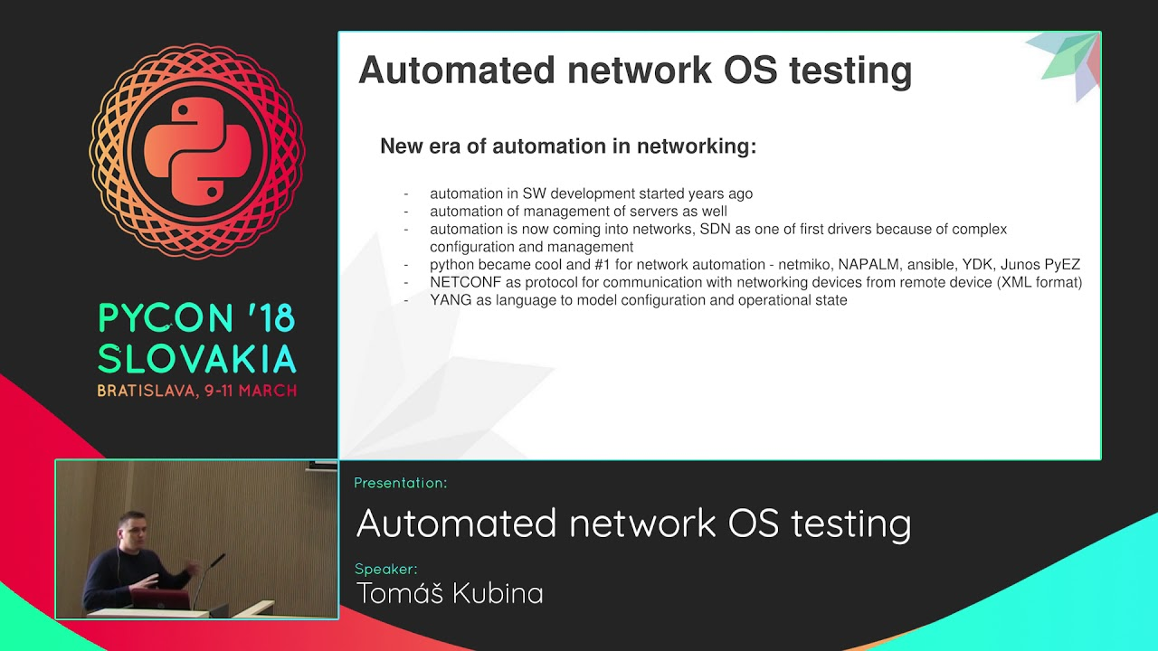 Image from Automated network OS testing