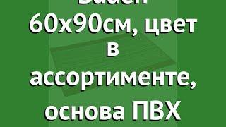 Коврик Baden 60х90см, цвет в ассортименте, основа ПВХ (Vortex) обзор 21080