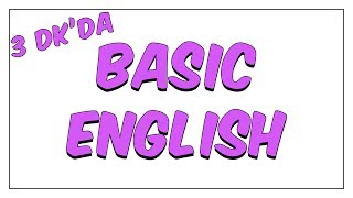 3dk'da BASIC ENGLISH