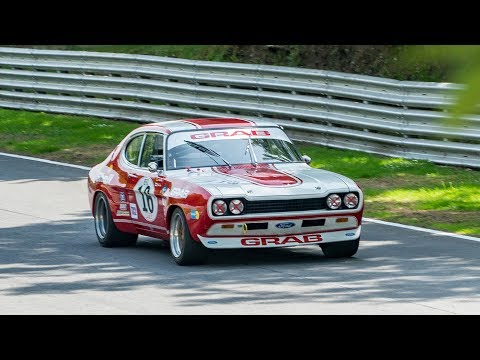 PURE SOUND: Ford Capri RS2600 Cologne V6 - Flat out on Track