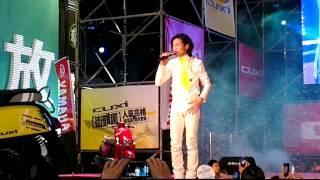 20120728*  CUXI巨星演唱會[高雄]-  蕭敬滕 只能想念你