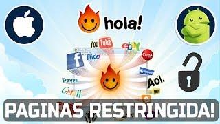 Hola VPN desbloquea cualquier region o  pagina Web para ver tus Series