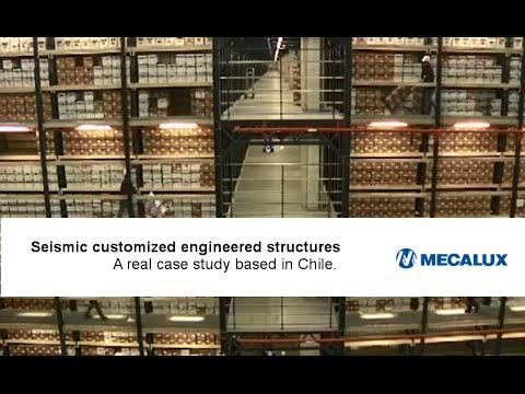 Seismic customized engineered storage structures | Mecalux Group