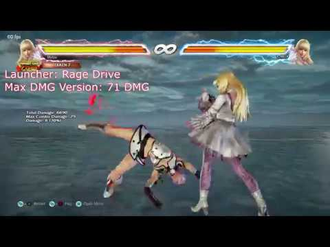 Tekken 7: Lili Staple Combos (Easy Input Versions)
