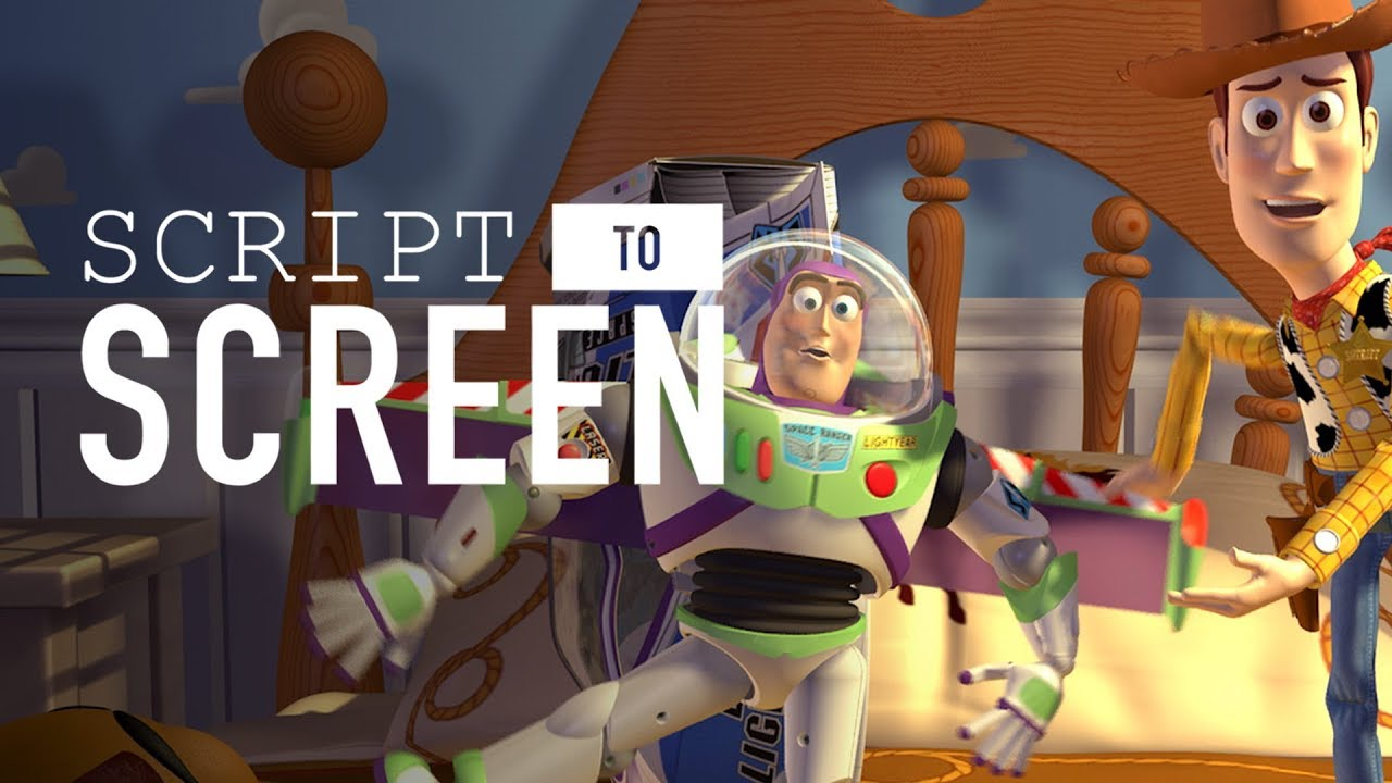 Toy Story Script To Screen By Disney Pixar Youtube