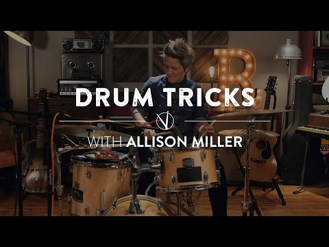 Drum Tricks with Allison Miller: Using Alternate Percussion