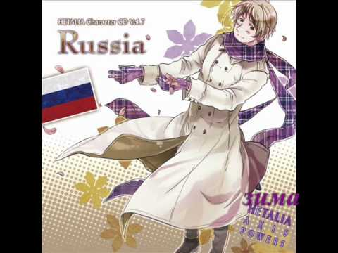 【 OFF VOCAL 】зима (Winter) Hetalia Russia's character song
