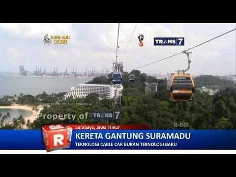 TRANS7 JATIM - Woww!! Cable Car Ada di Surabaya