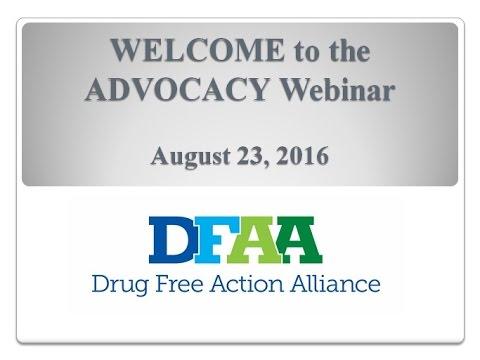 Advocacy Webinar - August 23, 2016