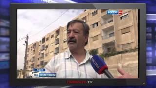 Сирийская армия сжимает кольцо окружения в районе Дамаска