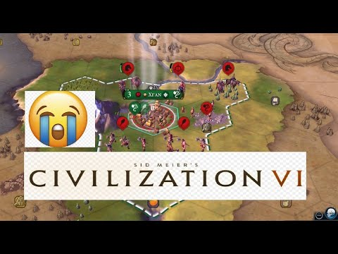 Civ 6 - I got fucked by Barbarians |